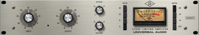 1176SE Legacy Classic Limiting Amplifier Plug-In