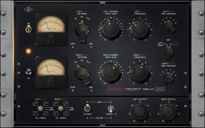 Fairchild 670 Legacy Compressor Plug-In
