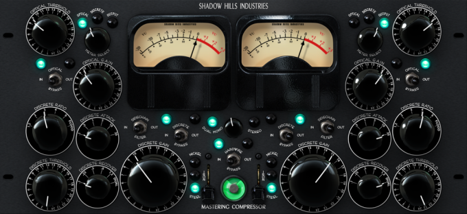 Shadow Hills Mastering Compressor Plug-In