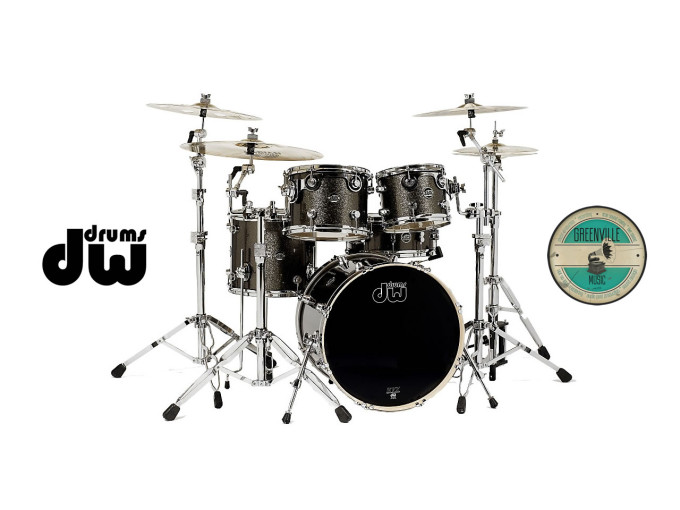 DW Performance Series Pewter Sparkle