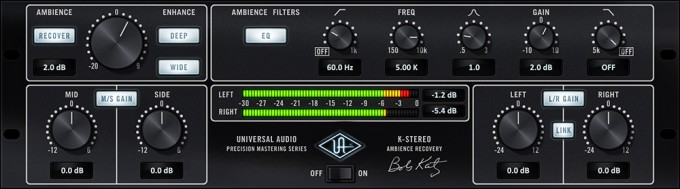 Precision K-Stereo Ambience Recovery Plug-In