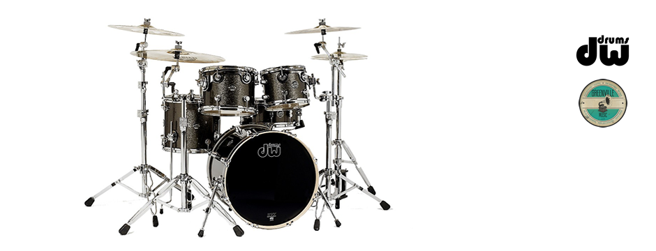 DW Drums Performance Series Pewter Sparkle